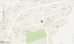 Mapa belchite restaurante la lomaza